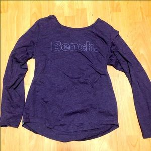 Purple Bench Long Sleeve Shirt